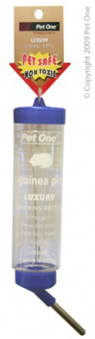 Pet One Deluxe Drinking Bottle Clear 250ml image 0