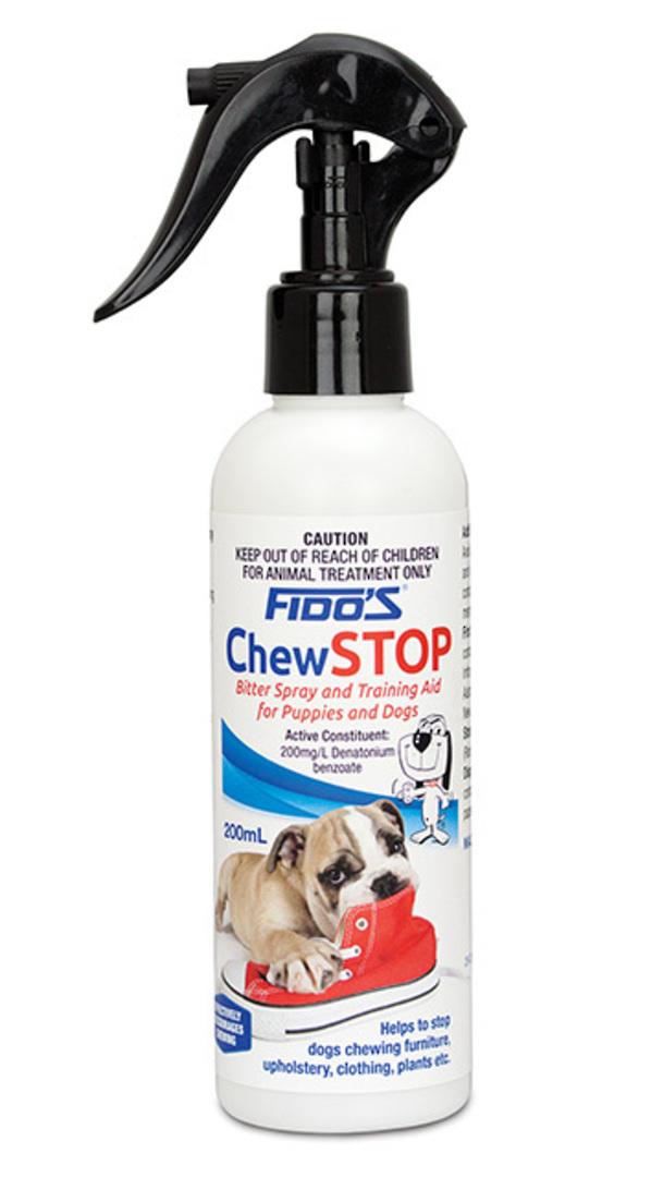 Fido's Chew Stop Bitter Spray 200ml image 0