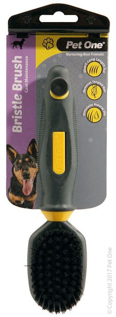 Pet One Bristle Brush (S) image 0