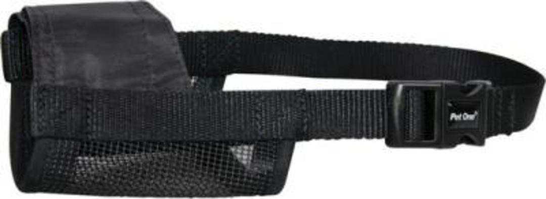 Pet One Adjustable Nylon Muzzle - Large image 0