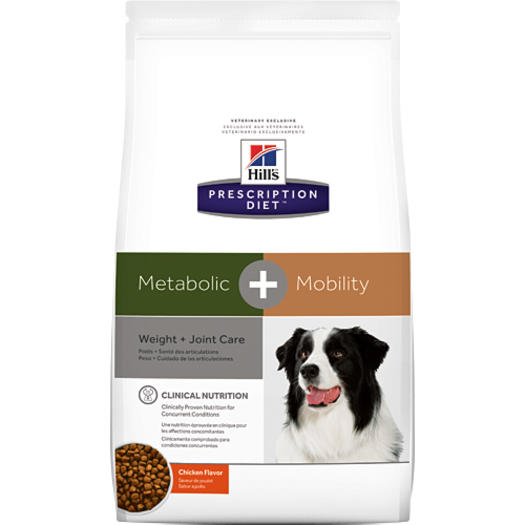 Hill's Prescription Diet Canine Metabolic Plus Mobility for Dogs 10.89Kg image 0