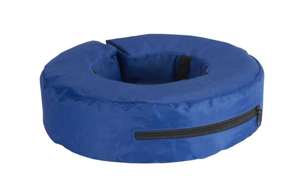 Buster Inflatable Collar Blue M image 0