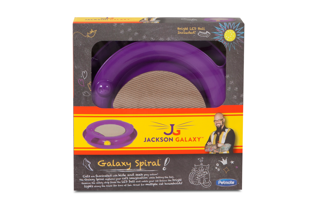 Galaxy Spiral Toy purple image 0