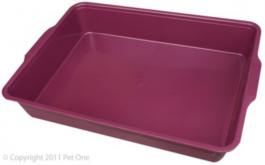 Pet One Cat Litter Tray Medium 44x31x7cm image 0