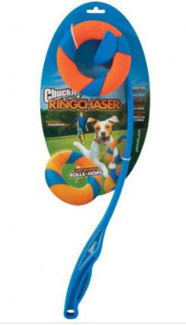 CHUCKIT! Ring Chaser Launcher image 0