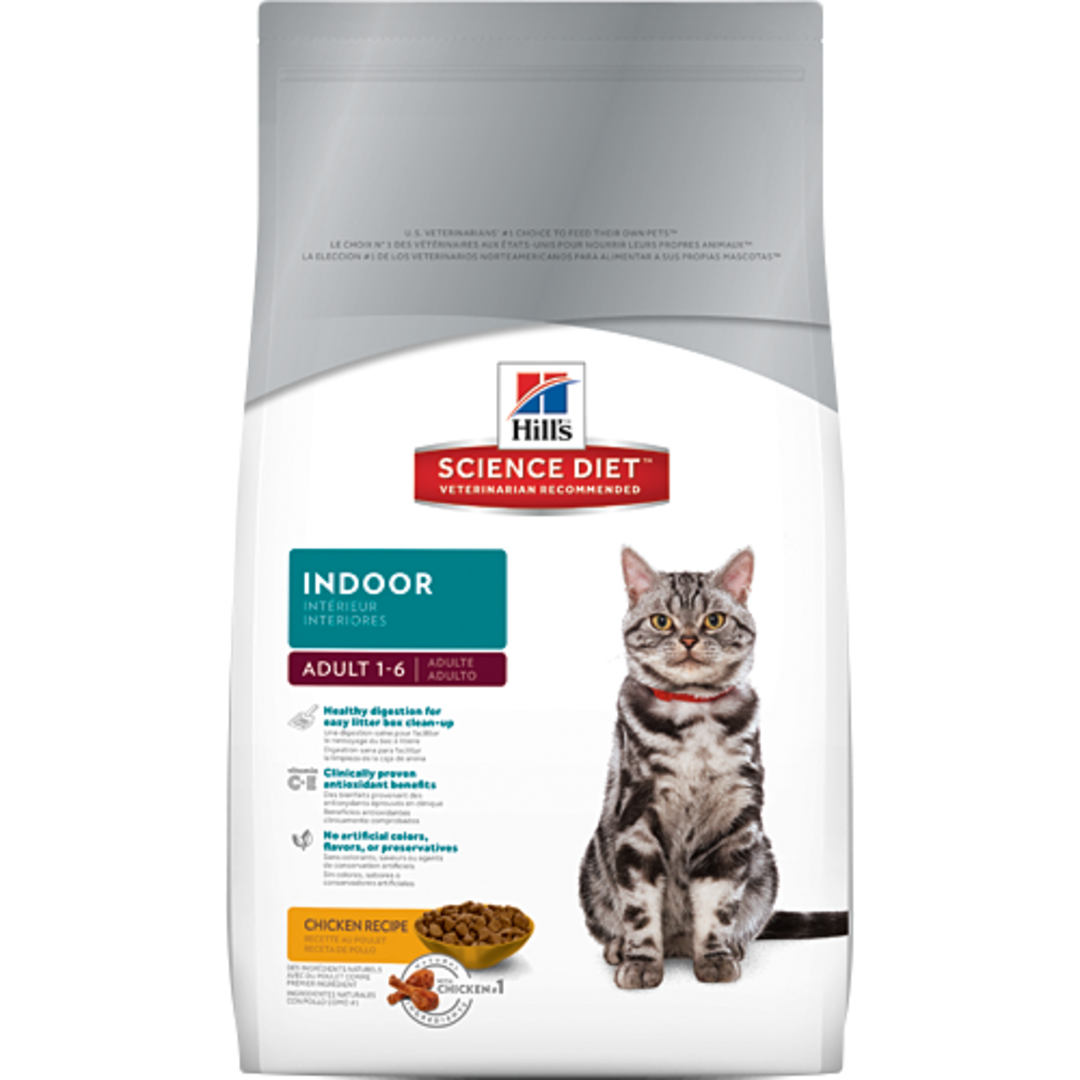 Hill's Science Diet Adult Indoor Cat 2Kg image 0