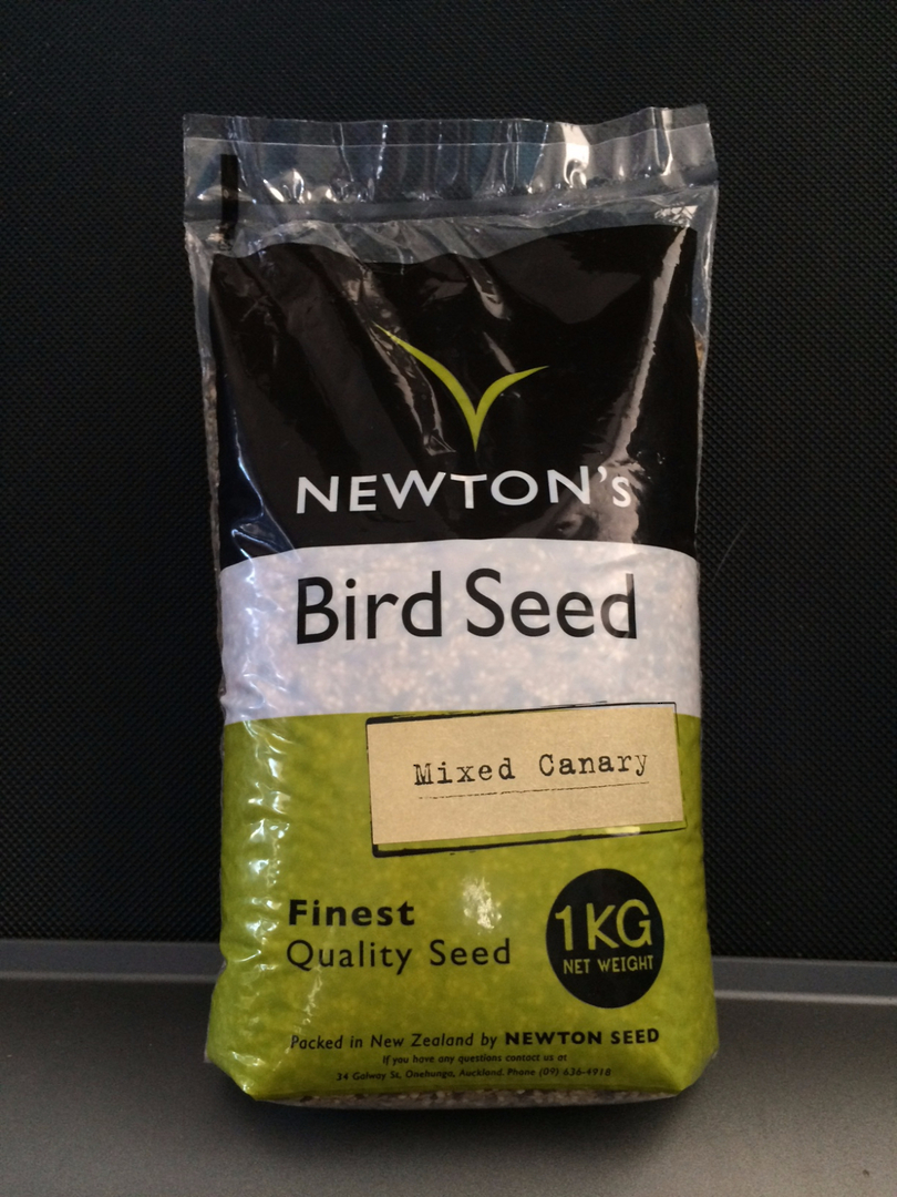 Newton Seed Canary Seed No Preservatives 1kg image 0