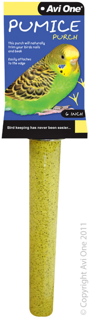 Avi One Pumice Perch 6inch / Light Yellow image 0