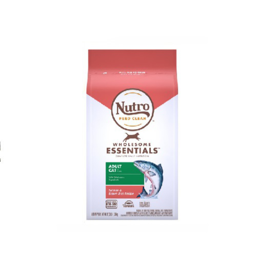 Nutro Adult Salmon & Whole Brown Rice 1.36kg image 0