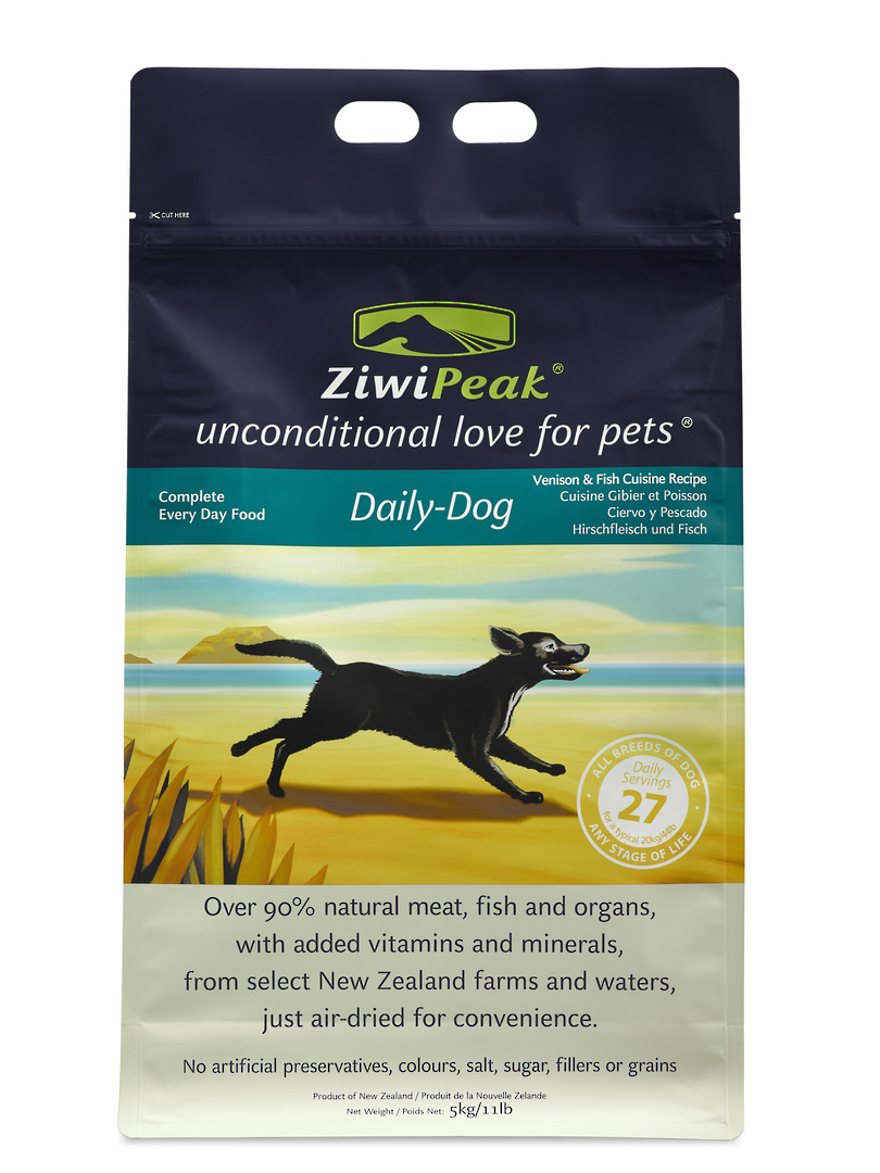 Ziwi Peak Air-Dried Venison & Fish Dog Cuisine 5kg image 0