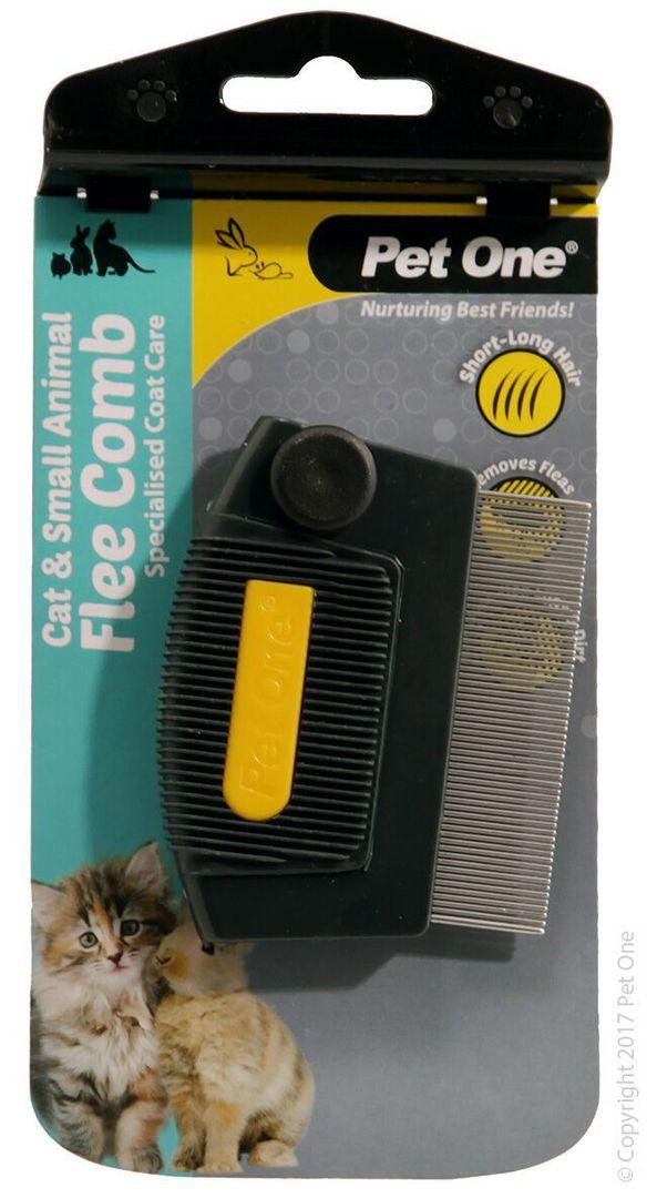 Pet One Flea Comb Mini image 0