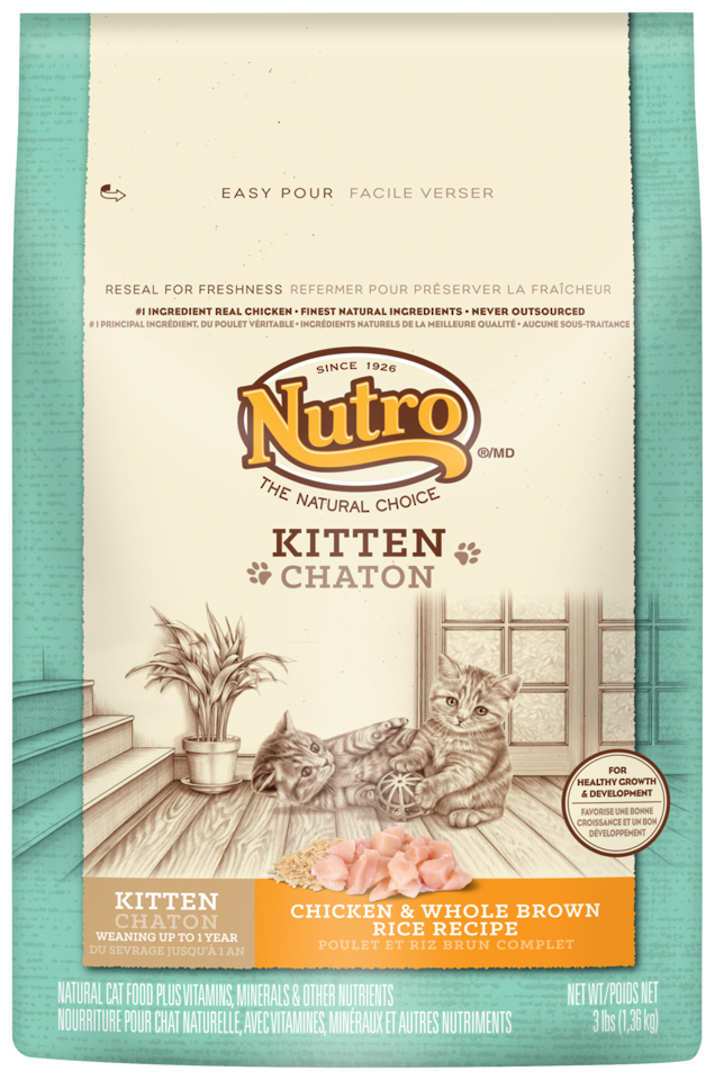 Kitten Wholesome Essentials 1.36kg (Chicken and Whole Brown Rice Formula) image 0