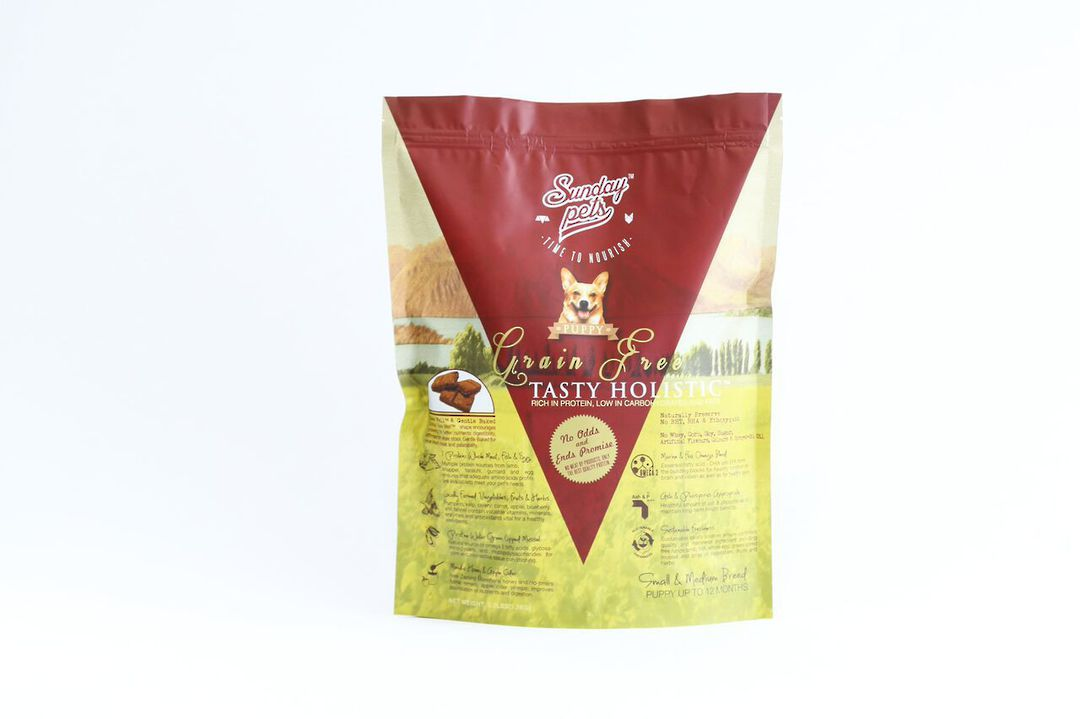Sunday Tasty Holistic Grain Free 1.5kg Small and medium Puppy Food image 0