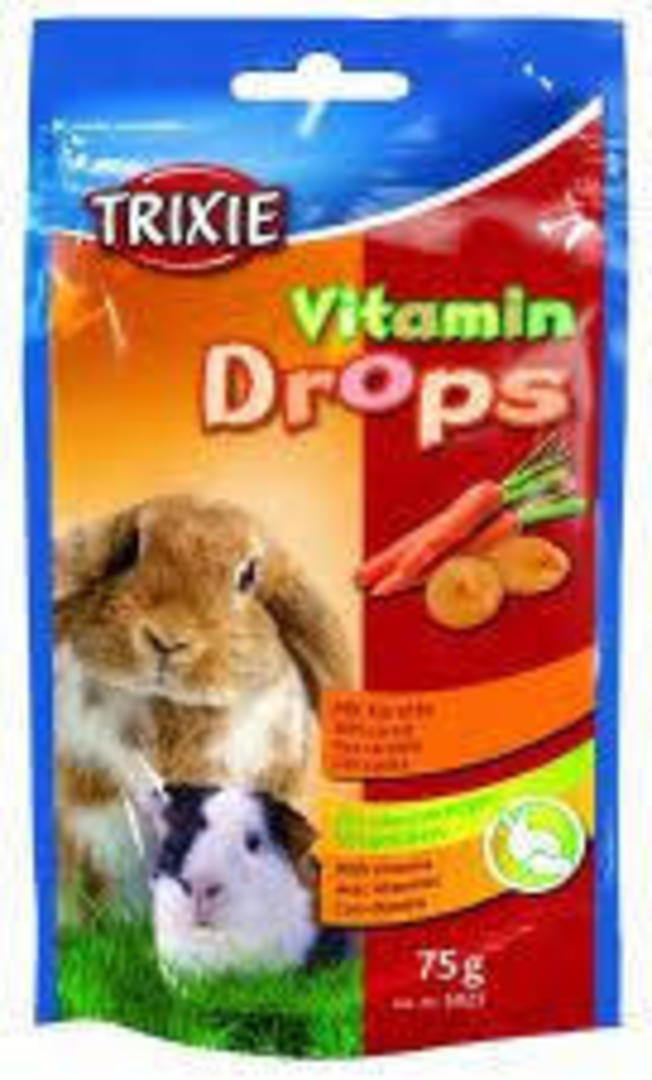Trixie Vitamin Drops - Vegetable 75g image 0