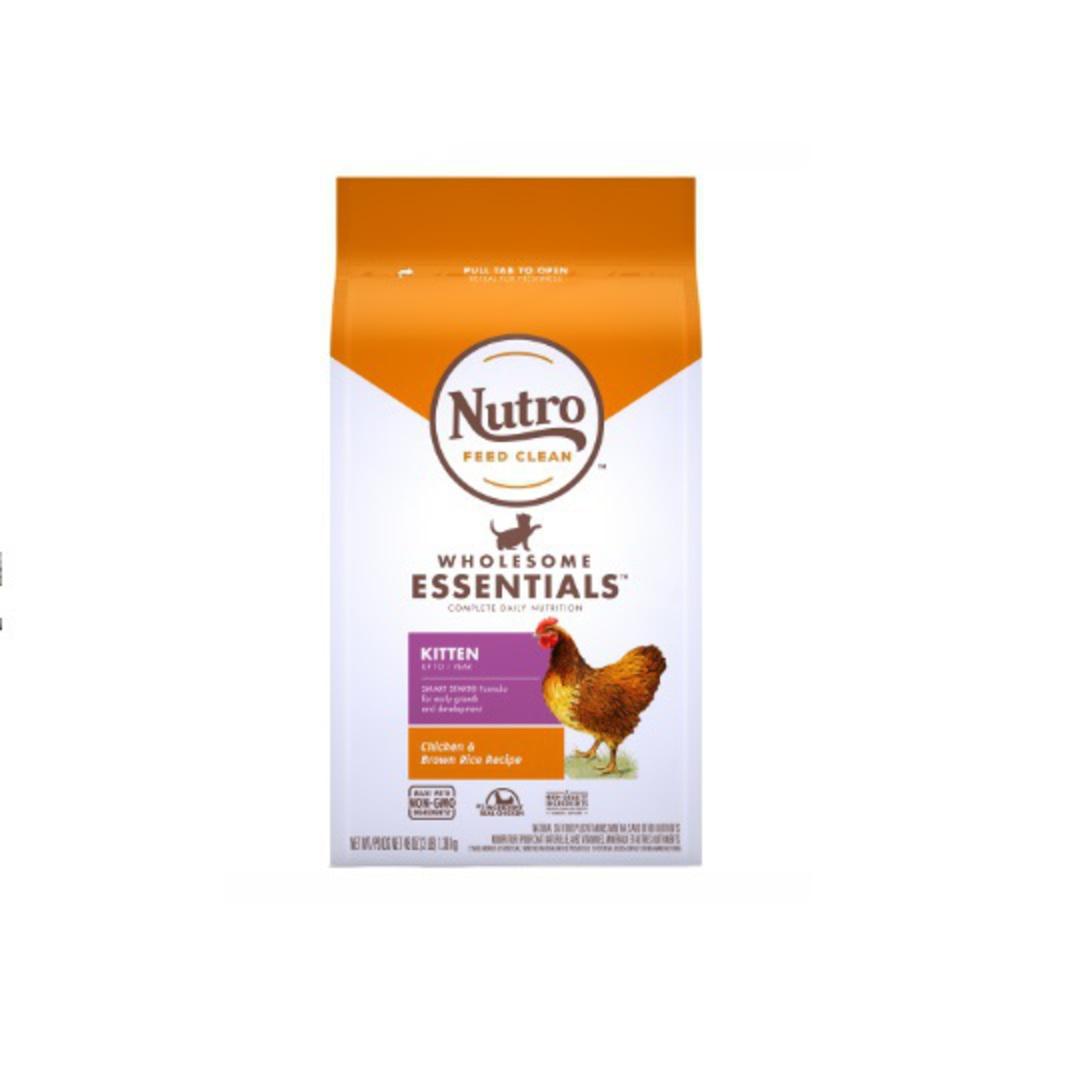 Nutro Kitten Chicken & Whole Brown Rice 1.36kg image 0