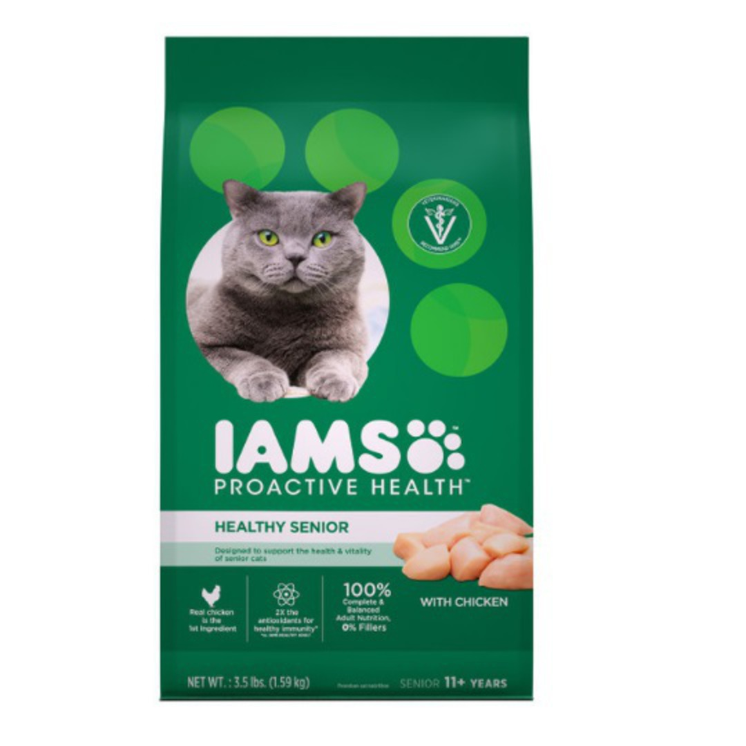 IAMS Cat Senior Chicken 3.18kg image 0