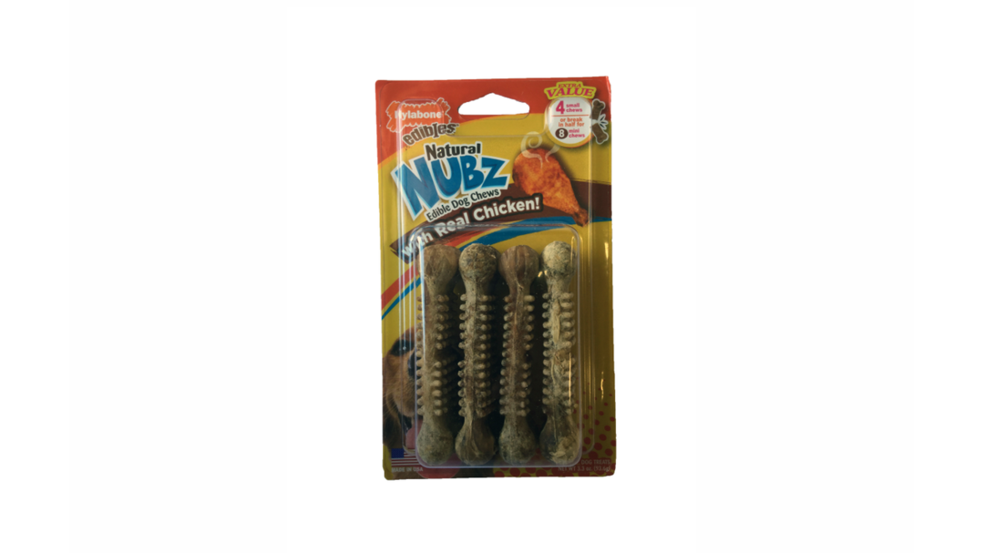 Natural Nubz Chicken Small 4 pack image 0