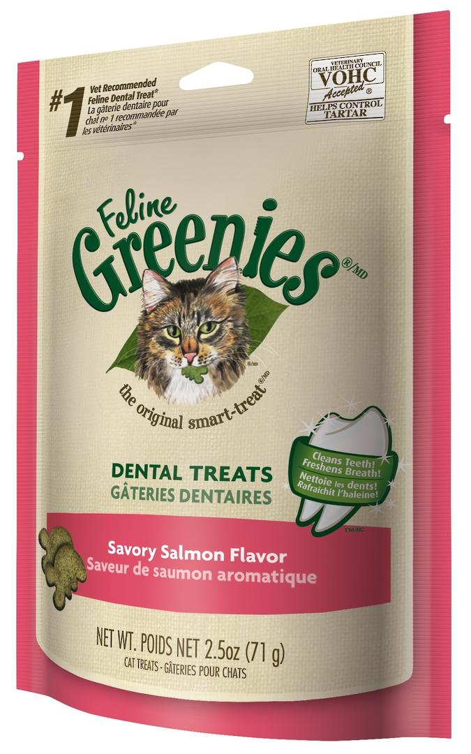 Greenies Cat Savoury Salmon 71g image 0