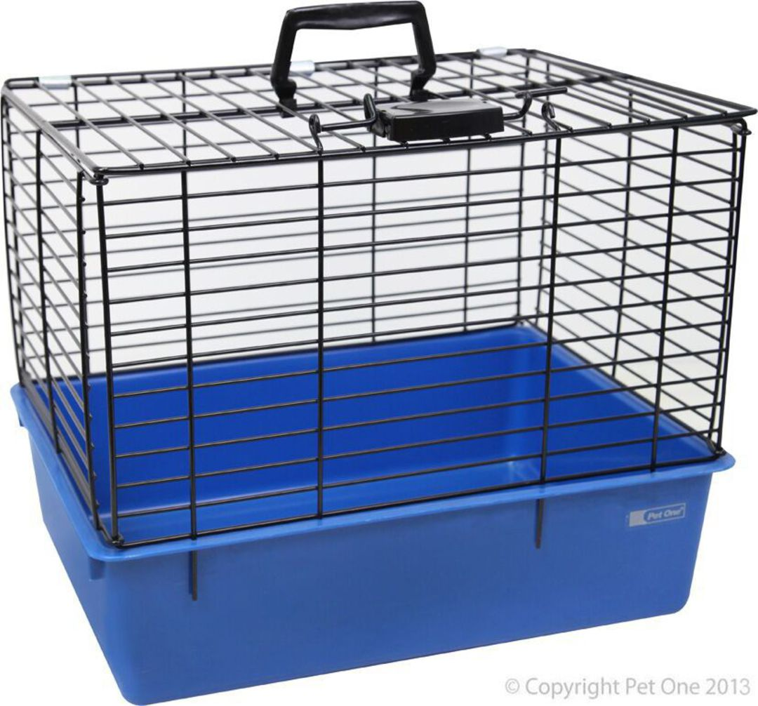 Pet One Wire Top Cat Carrier image 0