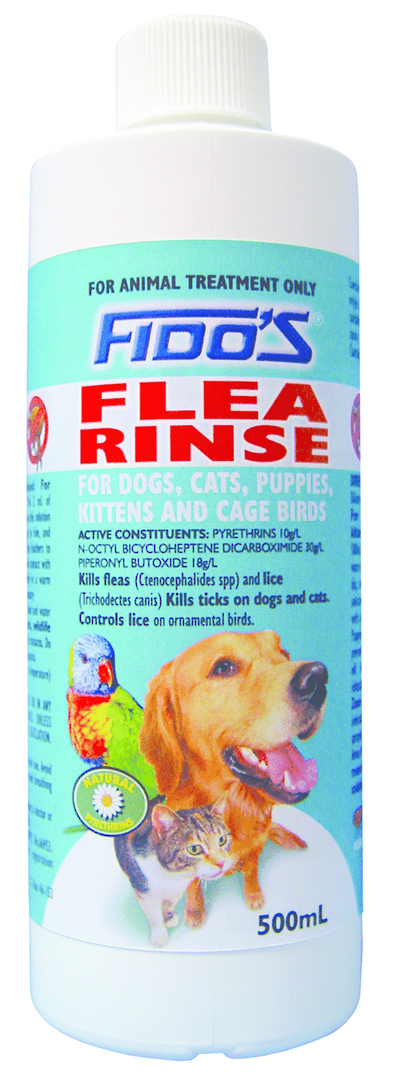 Fido's Flea Rinse Concentrate (500ml) image 0