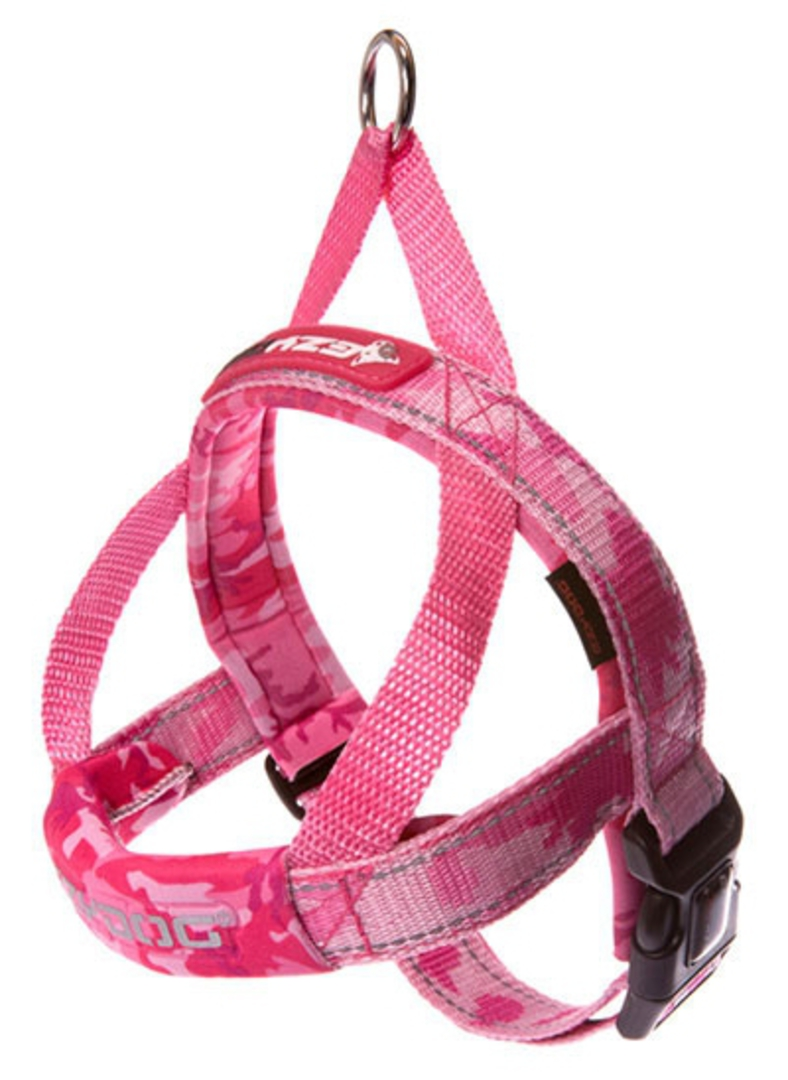 Ezydog Quick Fit Harness / Pink Camo / L image 0