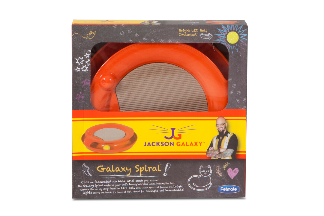 Galaxy Spiral Toy Orange image 0