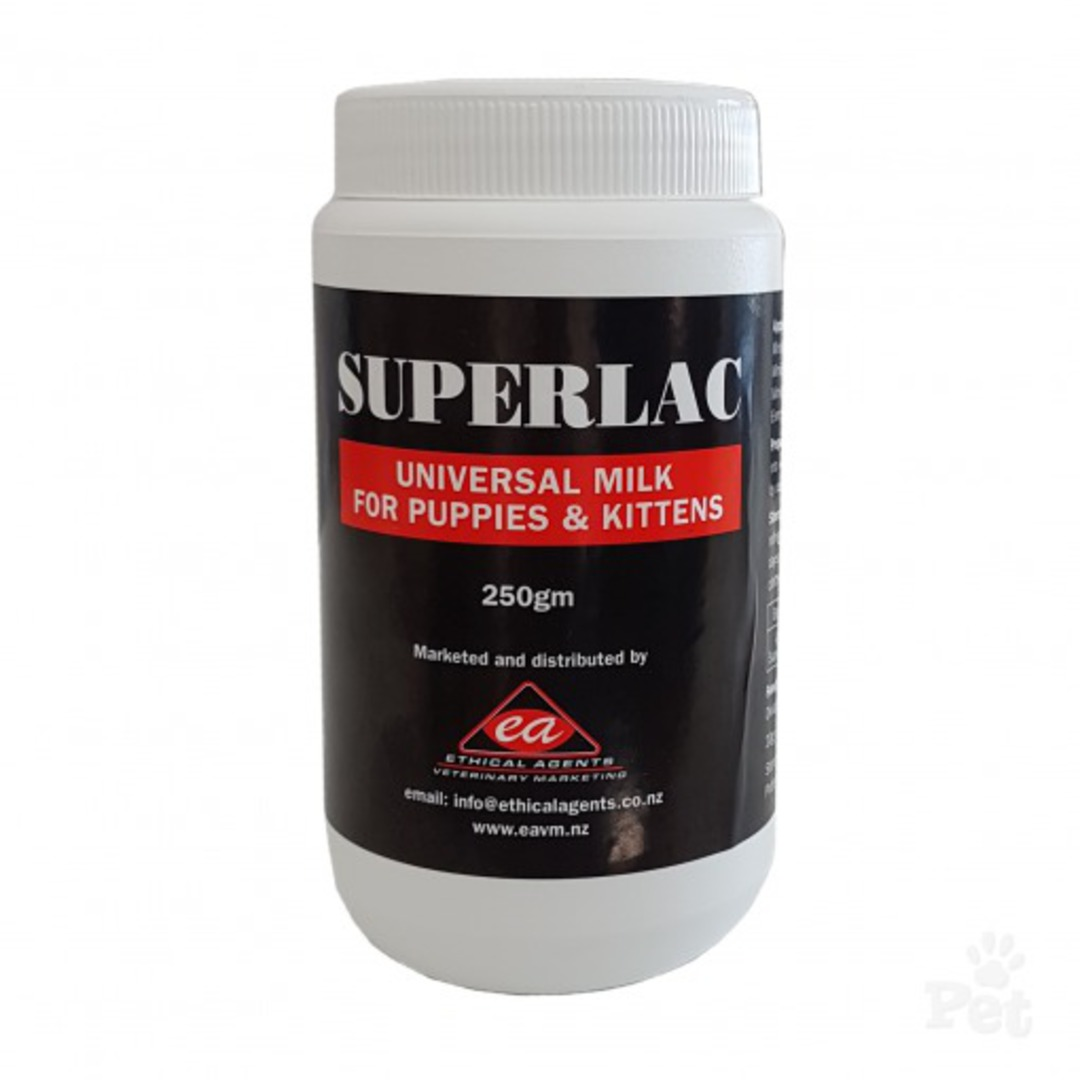 Superlac Puppy & Kitten Milk 250g image 0