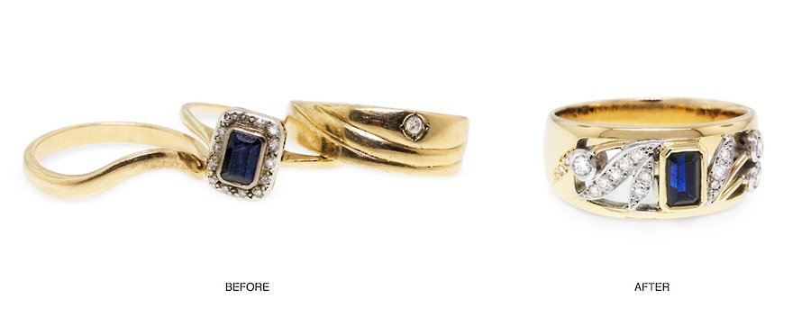 custom made jewellery remodelling