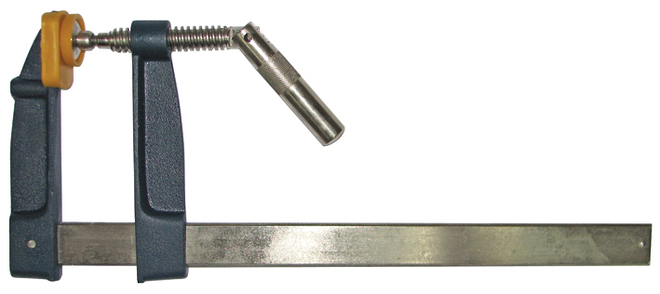 120x200mm STEEL HANDLE F CLAMP image 0