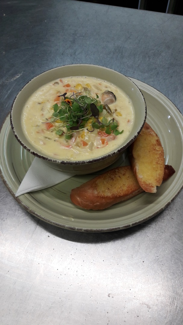 Seafood and Vegetable Chowder image 0