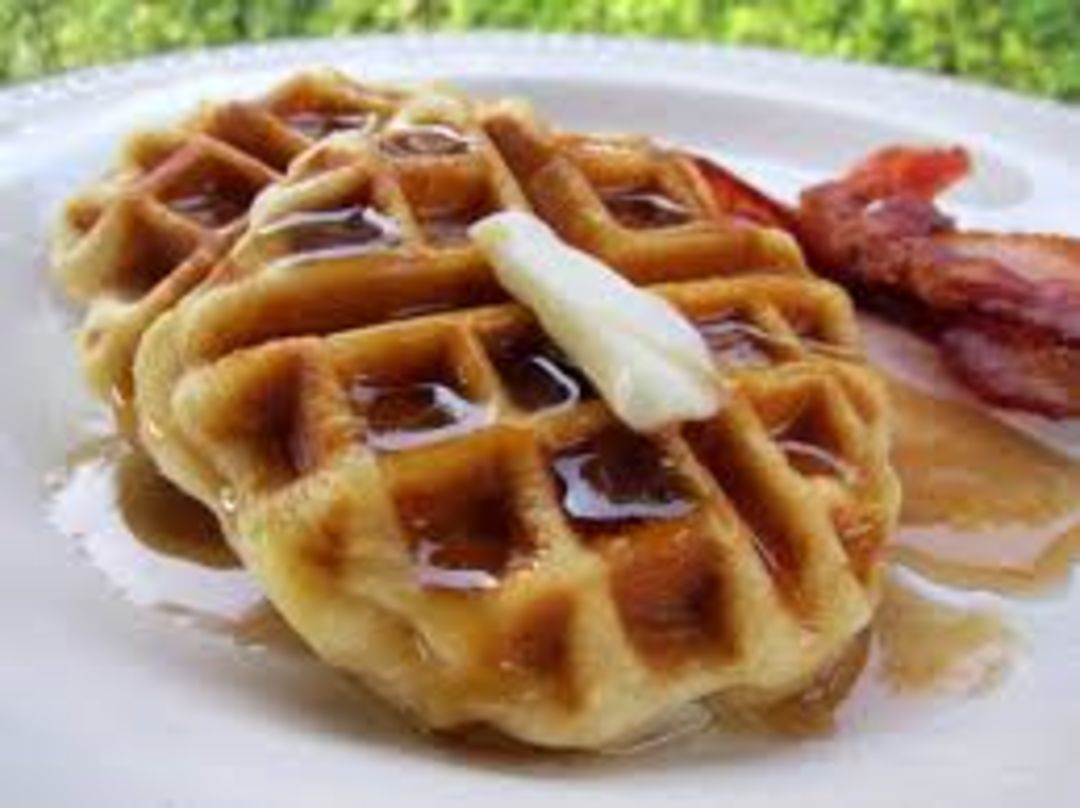 Waffles with Bacon image 0