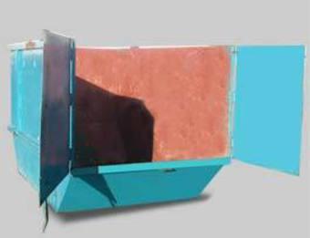 12m cubic rubbish bin image 0