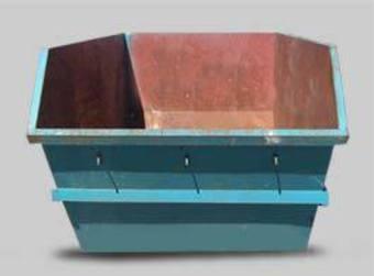 6m cubic rubbish bin image 0
