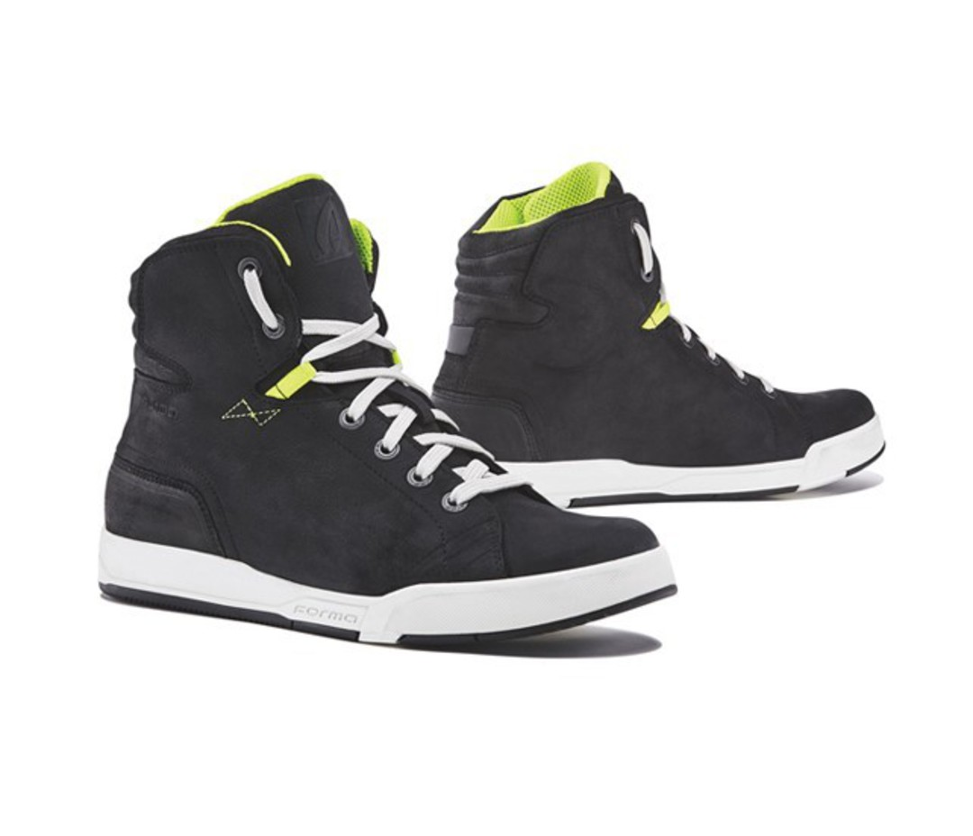 FORMA Swift Dry Boot Black-White-Lime image 0