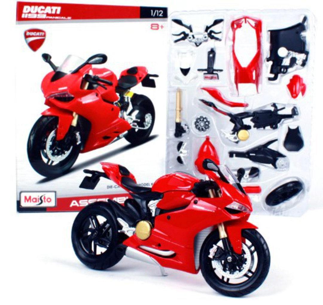 MODEL Maisto 1:12 assembly Ducati 1199 Panigale image 0