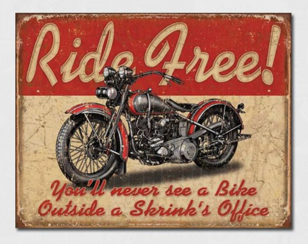 Tin Sign Ride Free image 0