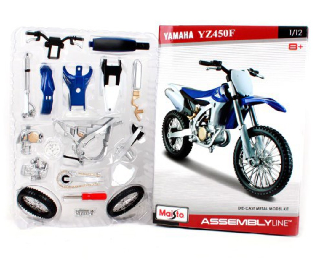 MODEL Maisto 1:12 assembly Yamaha YZ450 image 0