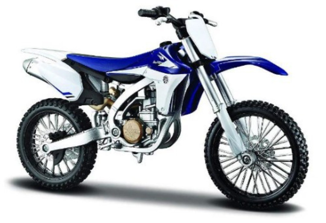 MODEL Maisto 1:12 assembly Yamaha YZ450 image 1