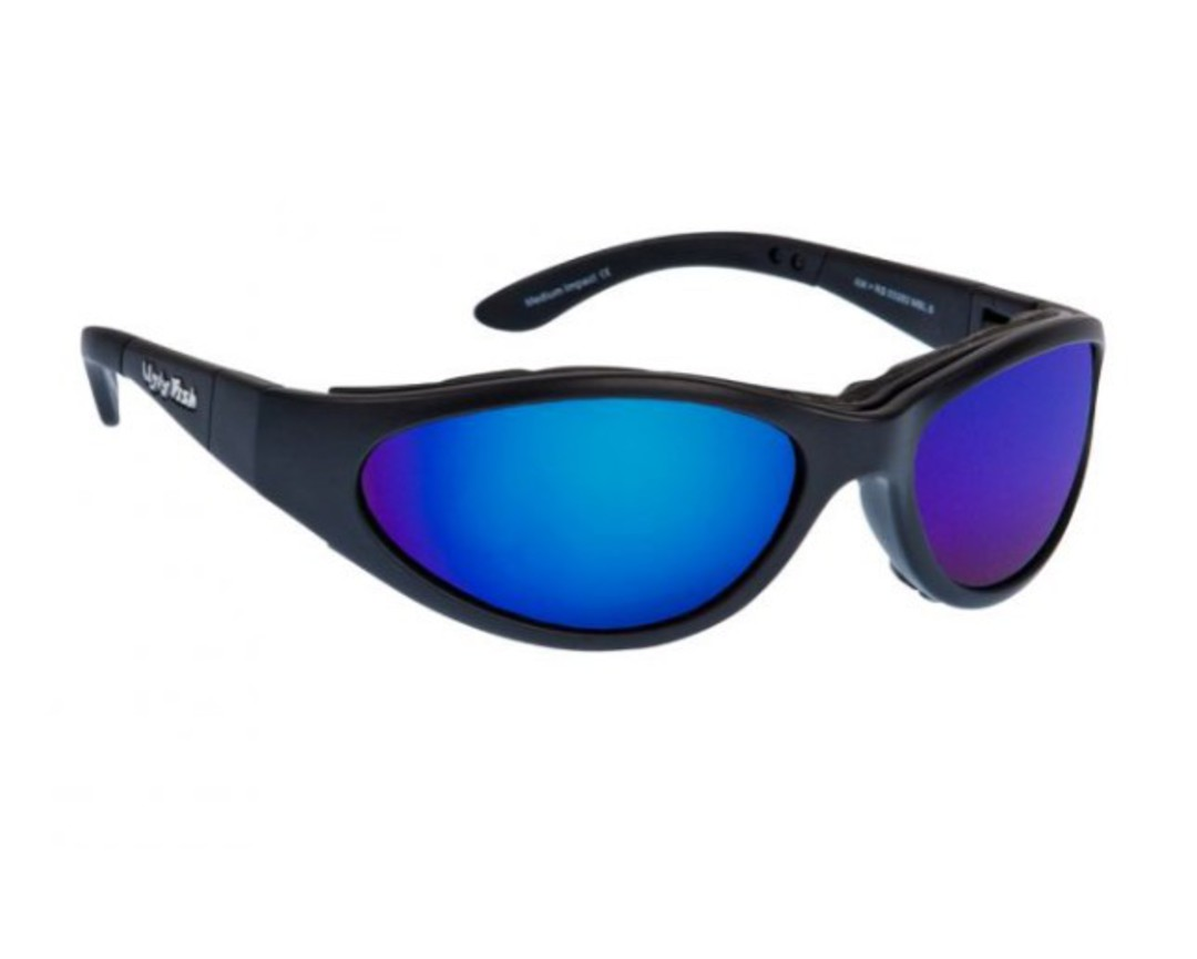 Ugly Fish Glide Matt Black w Blue Lens image 0