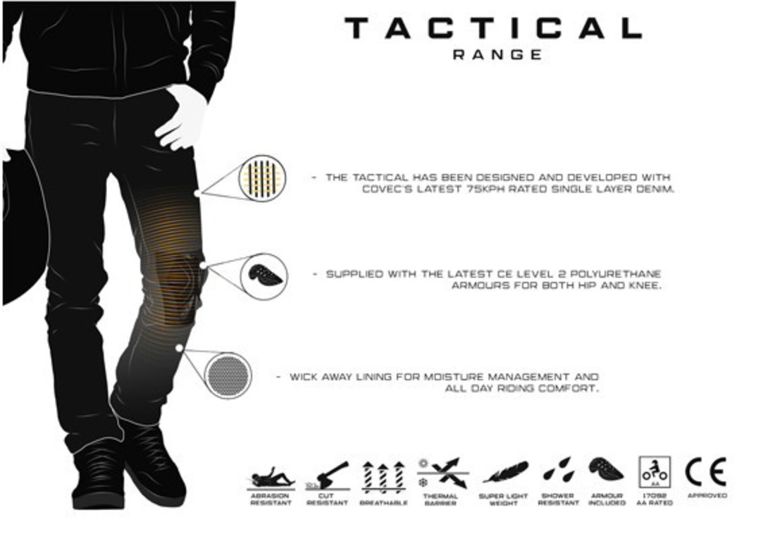 Bull-It Tactical AA Mens Riding jean image 2