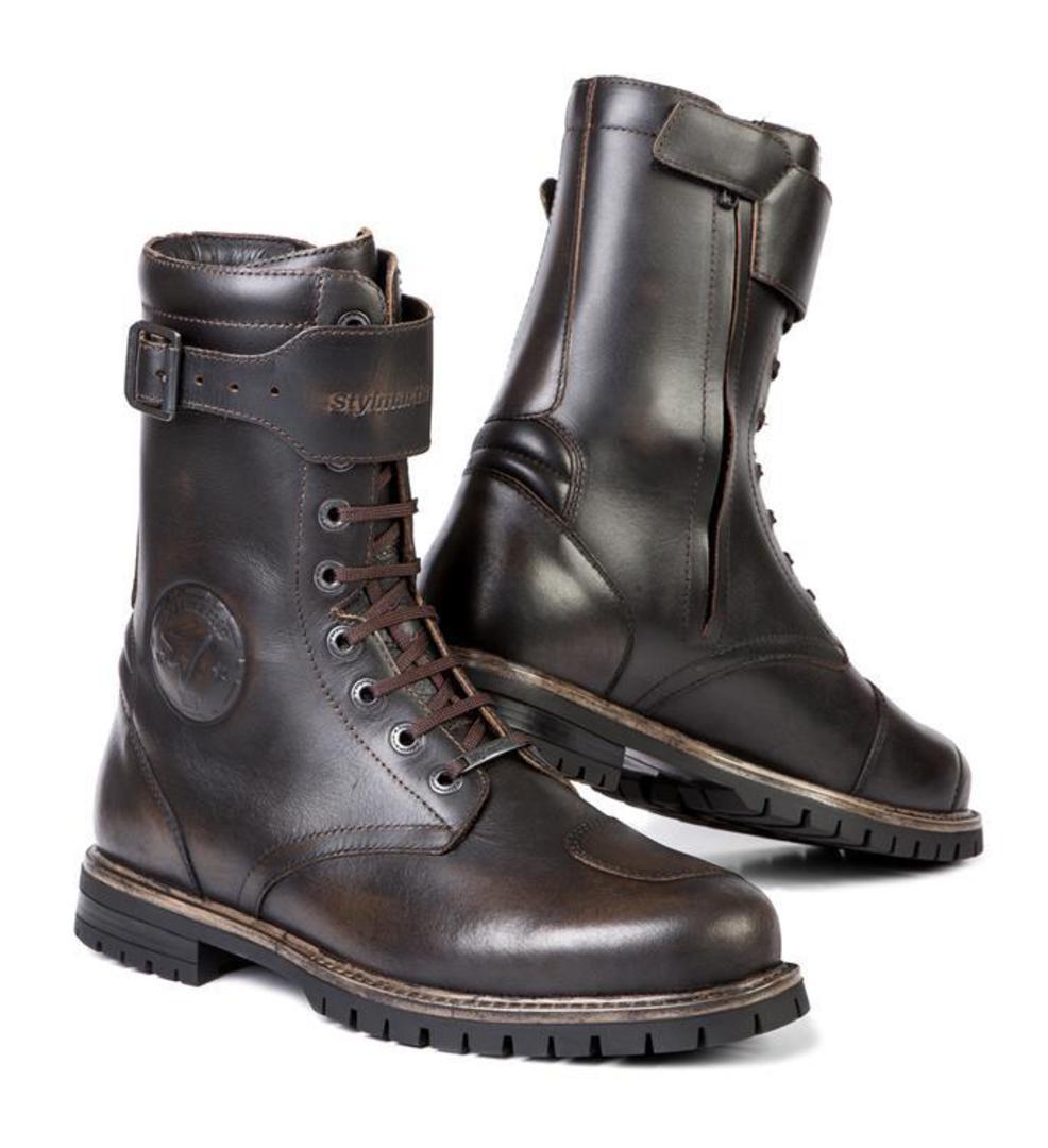 STYLMARTIN Rocket Vintage Brown Boots image 0