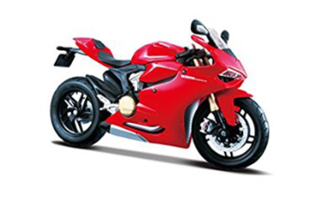 MODEL Maisto 1:12 assembly Ducati 1199 Panigale image 1
