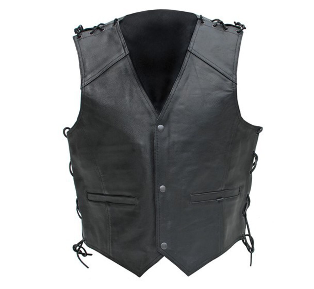 NEO Leather Dome Vest image 0
