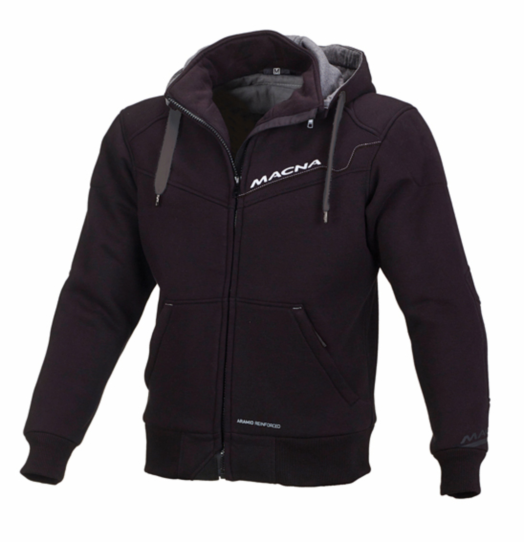 MACNA Mens Freeride Black Sweatshirt image 0