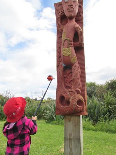 Daily walk at Kids Campus daycare in Tauranga
