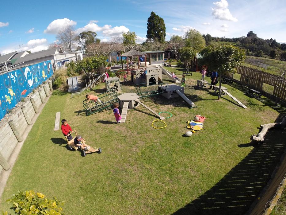 Kids Campus Childcare Tauranga outdoor area