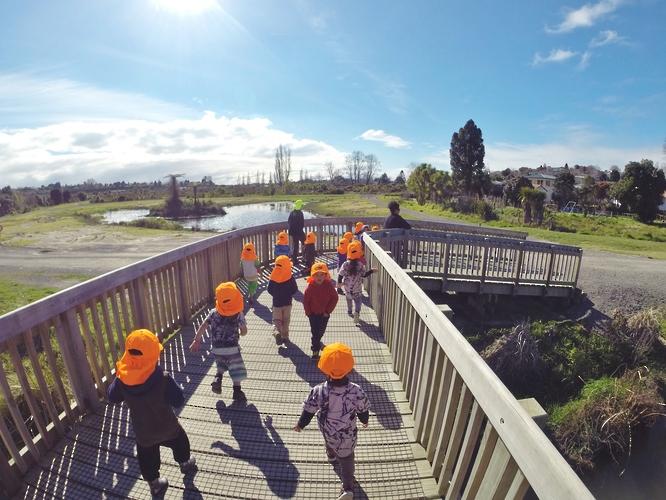 Active kids at Kids Campus in Tauranga