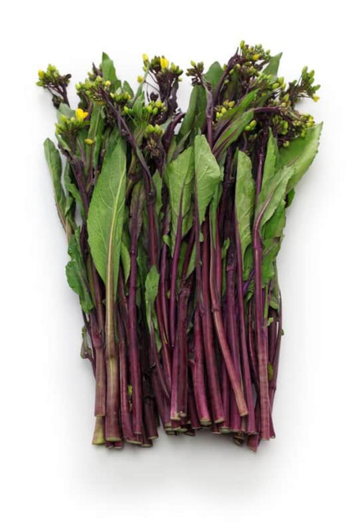 Pak Choi Hon Tsai Tai -  thin purple budded flower stems