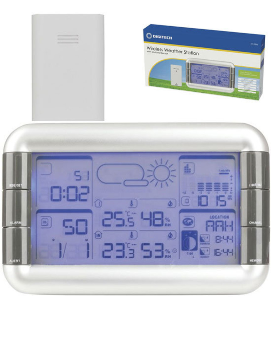 XC0366 DIGITECH Weather Station with Outdoor Sensor image 0
