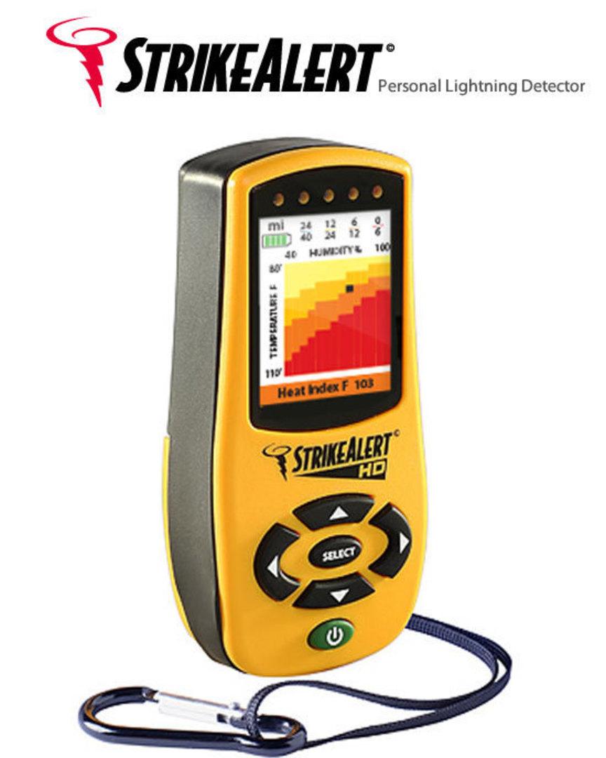 LD4000 Strike Alert HD Field Lightning Detector with Heat Index image 0
